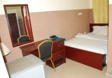 silver room at apa gate hotel, otukpo, benue state